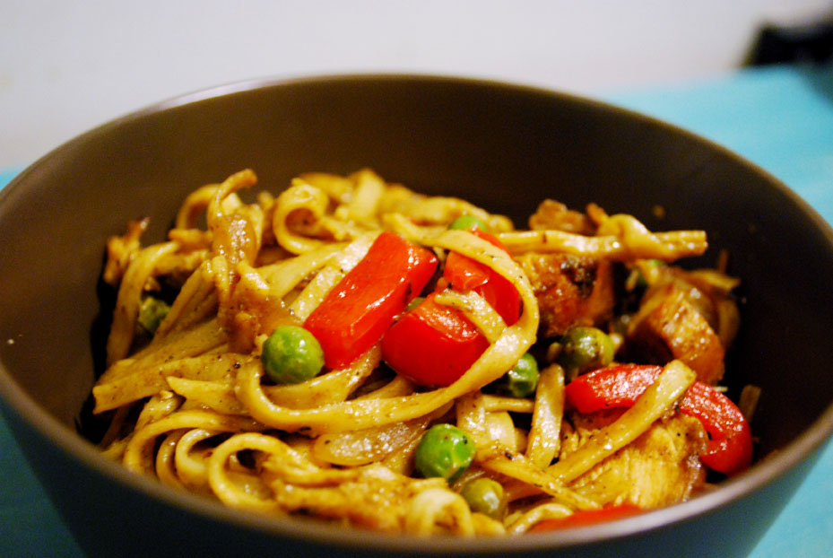 Runner's Recipe: Curried Udon Noodle Stir-Fry | Mother Runner